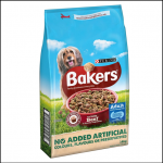 Bakers Complete Tasty Beef & Country Vegetables Dog Food 14kg