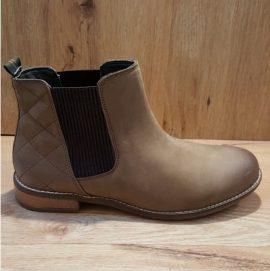 Barbour Abigail Cognac Chelsea Boot