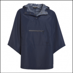 Barbour Alto Ladies Navy Waterproof Cape 1