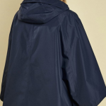 Barbour Alto Ladies Navy Waterproof Cape 2