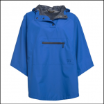 Barbour Alto Ladies Victoria Blue Waterproof Cape 1