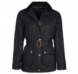 Barbour Ambleside Ladies Wax Jacket Olive 1