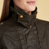 Barbour Ambleside Ladies Wax Jacket Olive 2