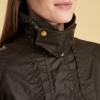 Barbour Ambleside Ladies Wax Jacket Olive 2