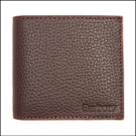 Barbour Billford Grain Leather Dark Brown Wallet