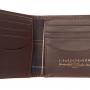 Barbour Billfold Grain Leather Dark Brown Wallet 2