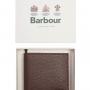 Barbour Billfold Grain Leather Dark Brown Wallet 3