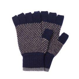 Barbour Brodie Navy Gloves
