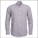Barbour Bruce Mocha Medium Check Shirt