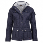 Barbour Buryhead Quilted Jacket Navy 1