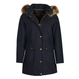 Barbour Buttermere Ladies Navy Jacket 1