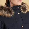 Barbour Buttermere Ladies Navy Jacket 3