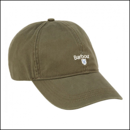 Barbour Cascade Olive Green Sports Cap 1
