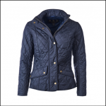Barbour Cavalry Flyweight Ladies Navy Quilted Jacket 1