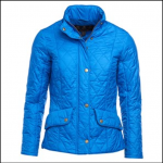 Barbour Cavalry Flyweight Ladies Victoria Blue Quilted Jacket