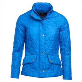 Barbour Cavalry Flyweight Ladies Victoria Blue Quilted Jacket 1