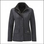 Barbour Cavalry Polarquilt Jacket Black