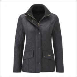 Barbour Cavalry Polarquilt Jacket Black 1