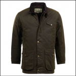 Barbour Cole Olive Wax Jacket