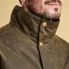Barbour Cole Olive Wax Jacket 3