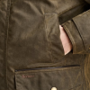 Barbour Cole Olive Wax Jacket 4