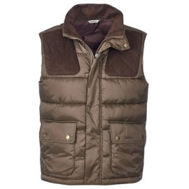 Barbour Colwarmth Olive Quilted Gilet