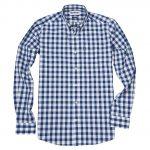 Barbour Endsleigh Deep Blue Gingham Shirt