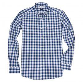 Barbour Endsleigh Deep Blue Gingham Shirt 1