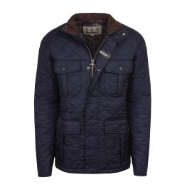 Barbour Explorer Navy Quilted Jacket