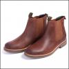 Barbour Farsley Dark Tan Chelsea Boots 2
