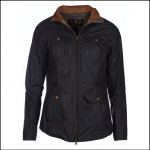 Barbour Filey Lightweight Ladies Dark Olive Wax Jacket
