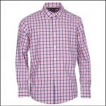 Barbour Fonthill Pink Check Shirt 1