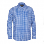 Barbour Hill Bright Blue Performance Shirt 1