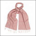 Barbour Lambswool Woven Scarf Cameo Rose 1