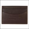 Barbour Leather Cardholder Dark Brown 2