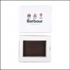Barbour Leather Cardholder Dark Brown 3