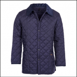 Barbour Liddesdale Quilted Jacket Navy 1