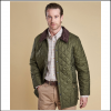 Barbour Liddesdale Quilted Jacket Olive 2