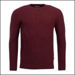 Barbour Manor Crew Neck Sweater Merlot 1