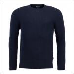 Barbour Manor Crew Neck Sweater Navy