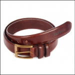 Barbour Men's Belt Gift Box Dark Brown