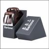 Barbour Men's Belt Gift Box Dark Brown 2