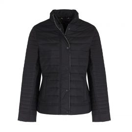 Barbour Mull Black Quilted Jacket