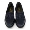 Barbour Olivia Ladies Navy Tassel Loafers 2