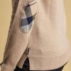 Barbour Pendle Ladies Caramel Crew Neck Sweater 2