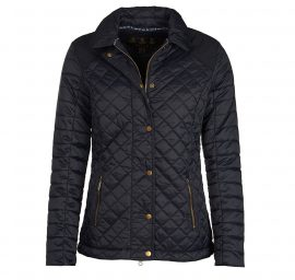 Barbour Quail Ladies Navy Quilt Jacket 1