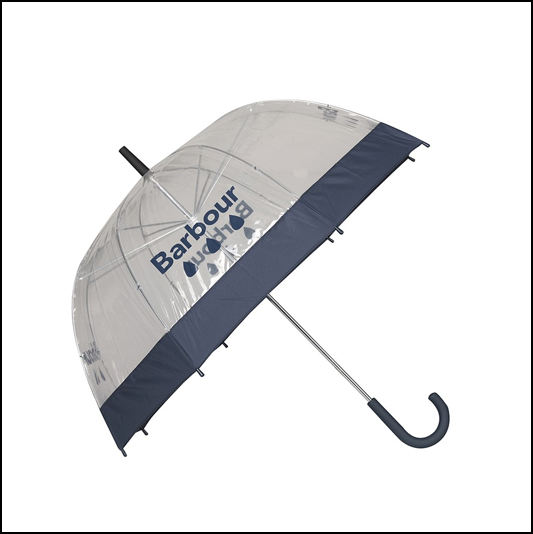 Barbour Raindrop Navy Umbrella 1