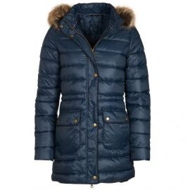 Barbour Redpoll Ladies Navy Quilted Jacket 1