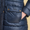 Barbour Redpoll Ladies Navy Quilted Jacket 2