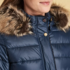 Barbour Redpoll Ladies Navy Quilted Jacket 3